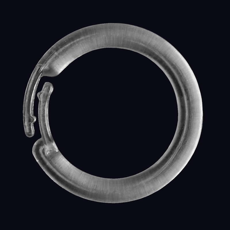 clear plastic rings � simple signman
